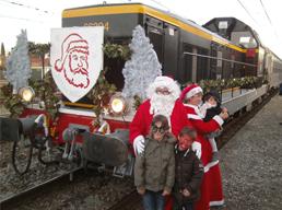 Les trains du Père Noël – Carcassonne
