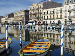 Sète en Méditerrannée